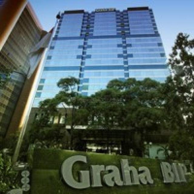 Tersedia Ruang Kantor 100-1000 di Graha BIP, Gatot Subroto, Jakarta Selatan