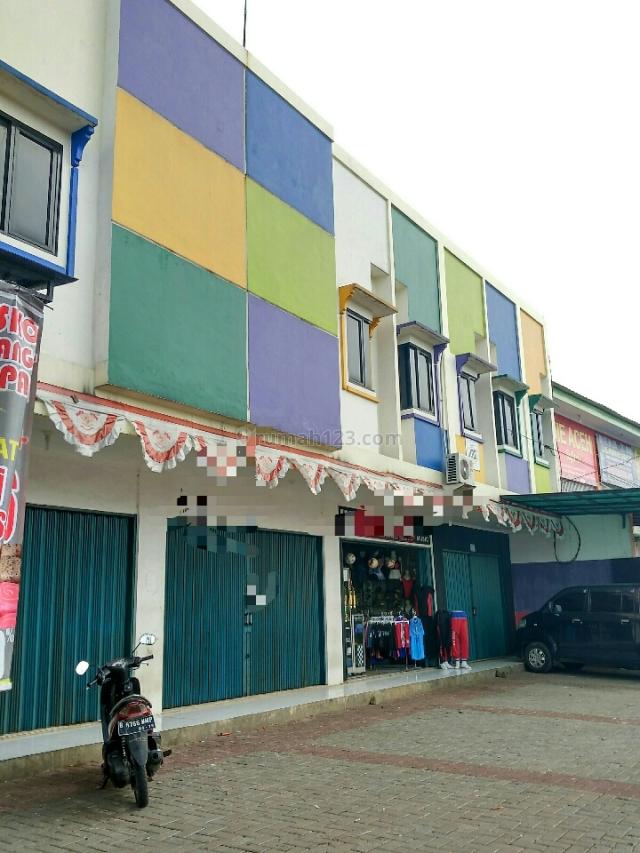 ruko pinggir jalan raya, Pamulang, Tangerang