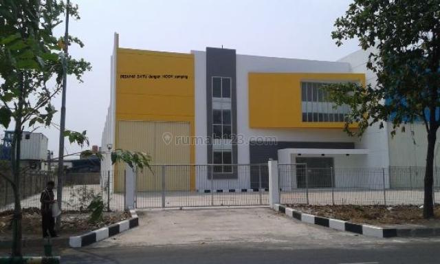 Bangunan Baru Ready Untuk Pabrik/Gudang di Jababeka Cikarang, Cikarang, Bekasi