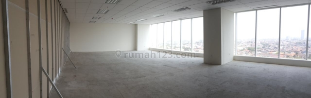 OFFICE SPACE 140M2 LANTAI 12 DI GALLERY WEST KEBONJERUK JAKARTA BARAT, Kebon Jeruk, Jakarta Barat