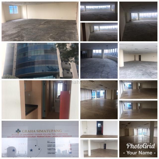 4 lantai Ruangan kantor di GRAHA SIMATUPANG Jl. Let.Jend.TB Simatupang, Pasar Minggu, Kotamadya, Jakarta Selatan, lokasi sangat strategis, Pasar Minggu, Jakarta Selatan