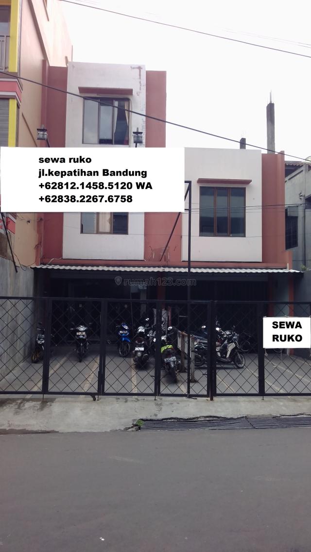 Ruko Jl.Simpang Kepatihan Bandung, Bandung Kota, Bandung