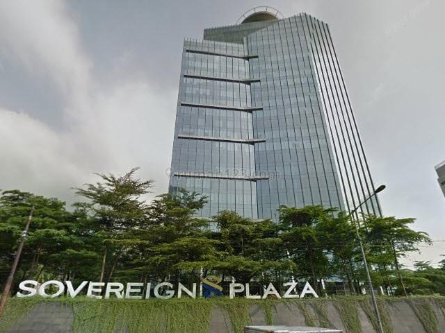 Office Space 801m2  di Sovereign Plaza , TB Simatupang, TB Simatupang, Jakarta Selatan