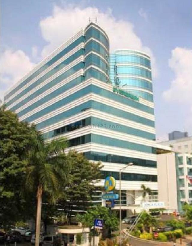 Kantor  170m2   di Mega Plaza , Rasuna Said, Setiabudi, Jakarta Selatan