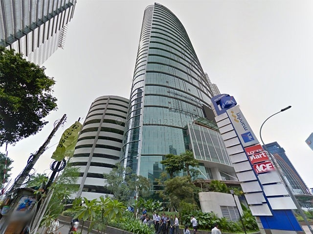 OFFICE SPACE AVAILABLE AXA TOWER FULLY FURNISH LUAS 191sqm HARGA NEGO, Setiabudi, Jakarta Selatan