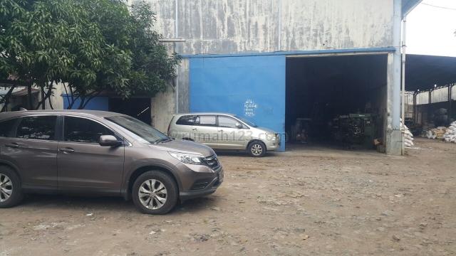 Pabrik di dalam kawasan akong, Mauk, Tangerang