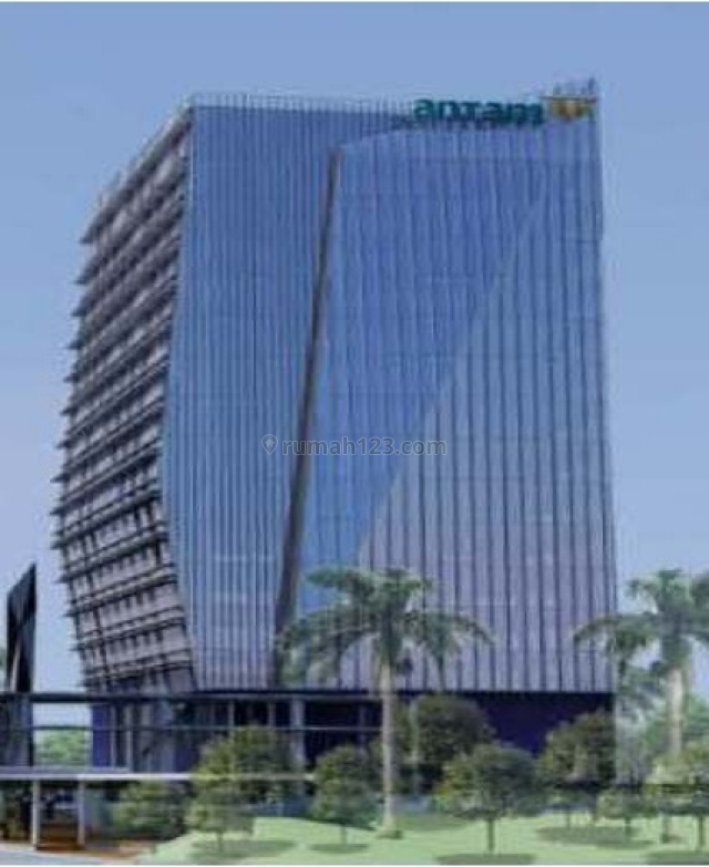 Kantor 370m2 di Antam Office Park Tower B ,, Jagakarsa, Jakarta Selatan