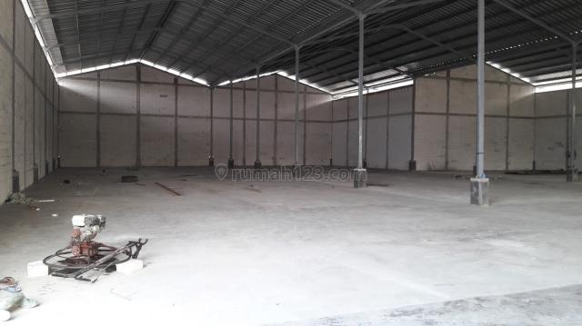 Gudang baru 1500 m2 Pesing Poglar Jak Barat Akses Cont 40, Cengkareng, Jakarta Barat