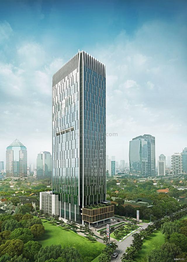 Tersedia Ruang Kantor 100-1000 di Menara Pertiwi, Mega Kuningan, Jakarta Selatan