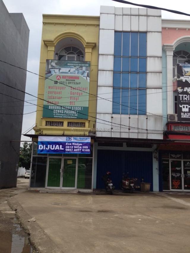 Ruko Di Jl Raya Cibarusah Lippo Cikarang 3 LT Rp 2,5 M Siap Pakai Ukuran 4,5x12,75, Cikarang Selatan, Bekasi