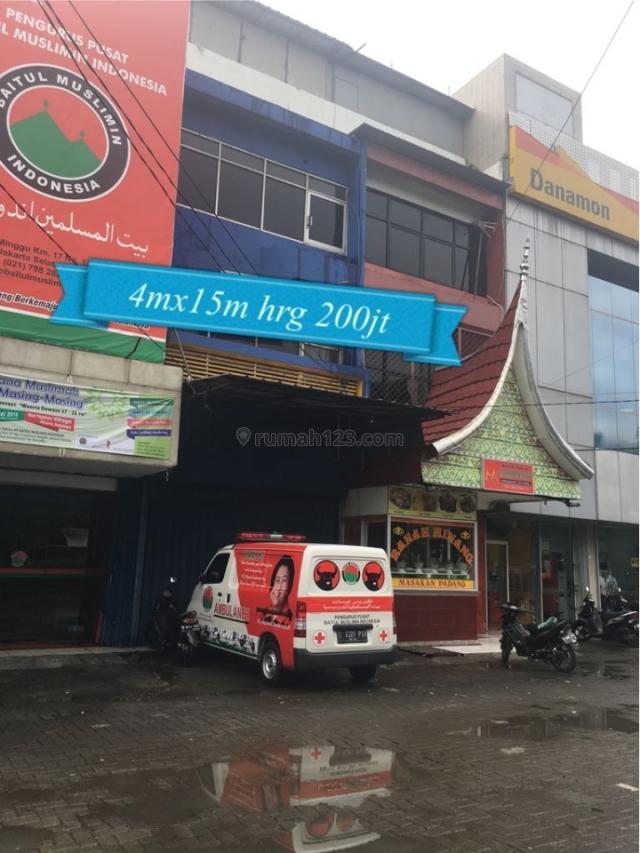 Ruko Cantik keluar domisili, Kalibata, Jakarta Selatan