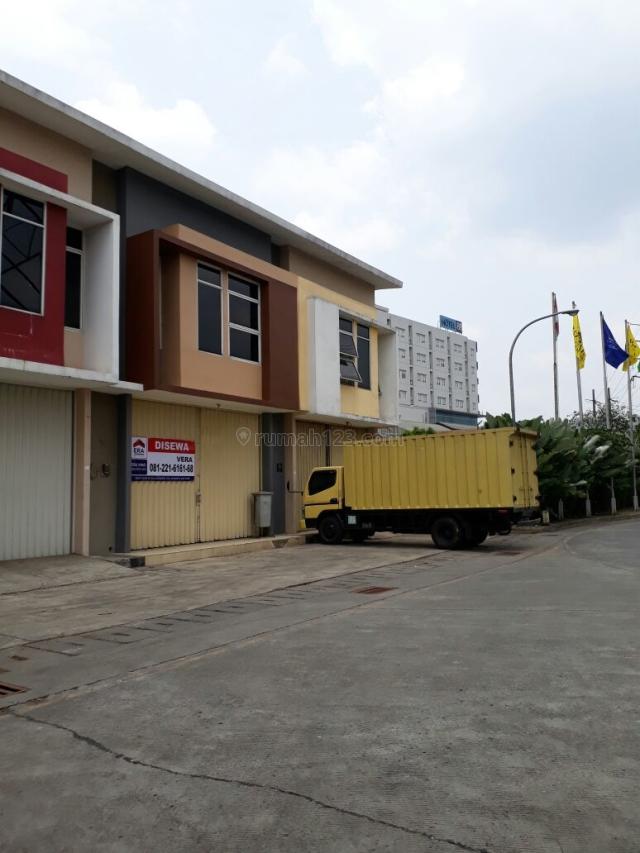 2 Unit Ruko/Gudang Bizpark di Blok Depan, Kopo, Bandung