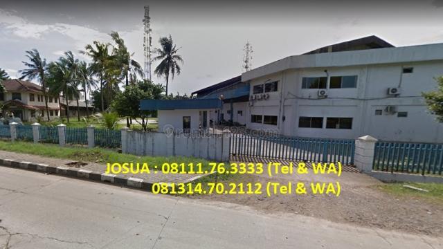 Pabrik JIEP Pulo Gadung : LT 9102 m2, LB 4500 m2, Strategis, Pulo Gadung, Jakarta Timur