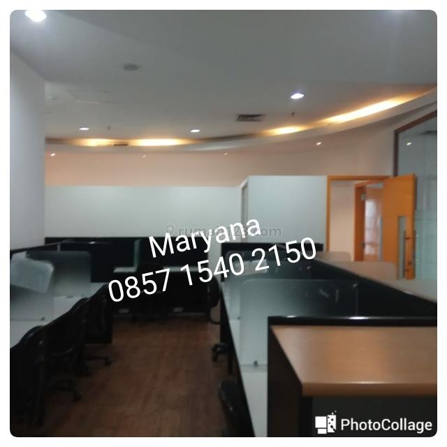 Kantor di APL Tower Central Park Full Furnish lokasi strategis siap pakai, Central Park, Jakarta Barat