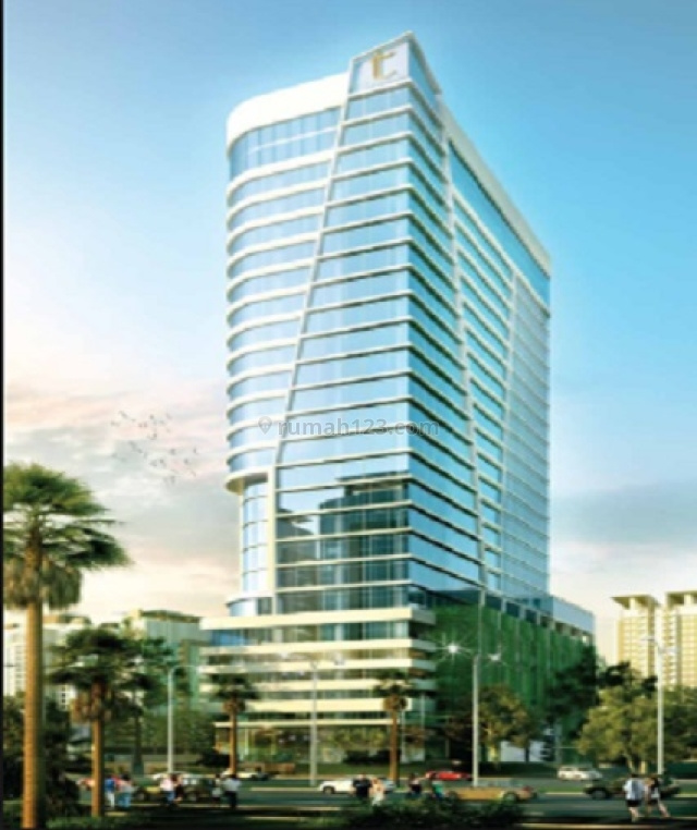 Office Space 332m2  di T Tower, Gatot Subroto, Gatot Subroto, Jakarta Selatan
