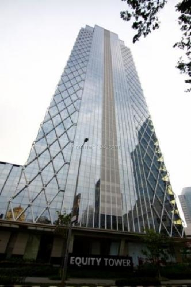 OFFICE SPACE EQUITY TOWER UP TO 2100sqm LOW ZONE, SCBD, Jakarta Selatan