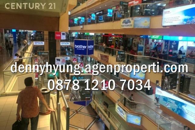 Kios Mangga Dua Mall Lantai 3 Luas 37 m2, Sawah Besar, Jakarta Pusat
