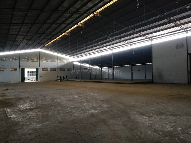 Ex-Pabrik/ Gudang di Kawasan Industri Jati Uwung, Tangerang, Jati Uwung, Tangerang