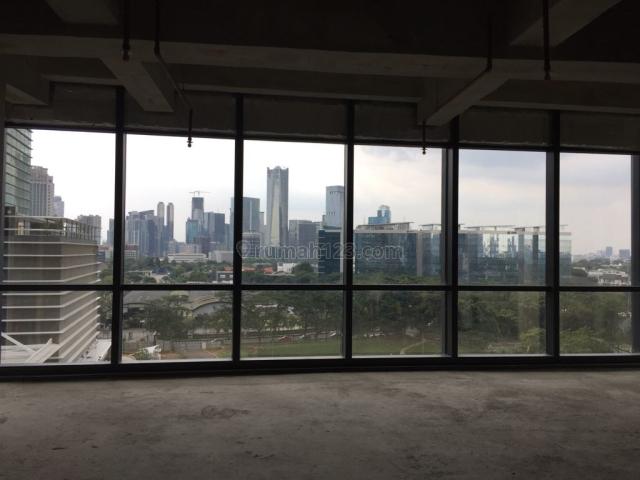 Office Space District 8 SCBD , Luas : 133 m2 Rp 350.000 /m2, Kebayoran Baru, Jakarta Selatan