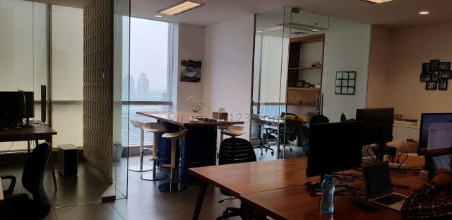Office 8 @ Senopati 107 Sqm Fully Furnished & Interior - Unit Langka & Harga Murah, Senopati, Jakarta Selatan