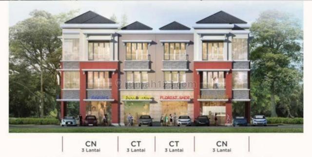 Ruko edison dikembangkan dengan konsep Smart and Green Environment,, Serpong, Tangerang