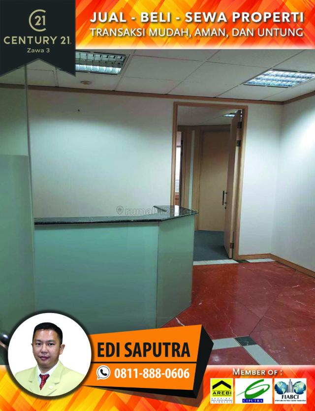 Space Office Menara Sudirman Luas 218 m2 Lantai 12, Sudirman, Jakarta Selatan