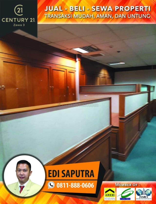 Space Office Menara Sudirman Luas 436 M2 Lantai 14, Sudirman, Jakarta Selatan