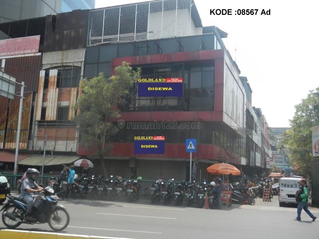 KODE :08567(Ad) Ruko Glodok, Hadap Selatan-Barat, Luas 13,5x9,5 Meter (128 Meter), Kota, Jakarta Barat