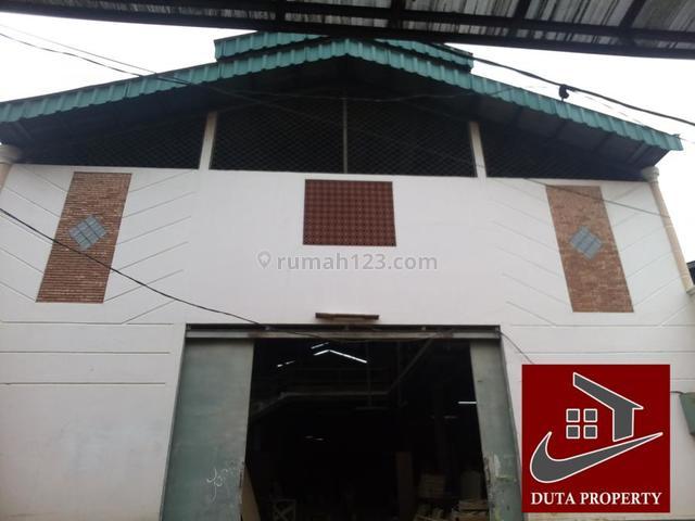 Gudang Bagus dan Minimalis di Kali Malang Dekat Pintu Tol Bintara, Kalimalang, Bekasi