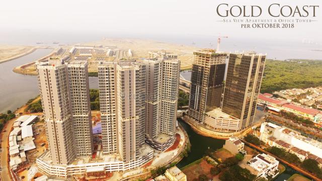 Gold Coast Office Pantai Indah Kapuk View CITY BISA LANGSUNG PAKAI, Pantai Indah Kapuk, Jakarta Utara