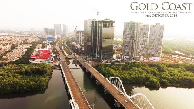 Gold Coast Office Pantai Indah Kapuk View LAUT BISA LANGSUNG PAKAI, Pantai Indah Kapuk, Jakarta Utara