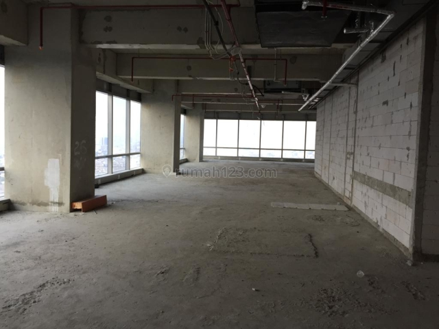 OFFICE SPACE SOHO CAPITAL 321sqm BARE LOW ZONE 170rb/sqm/month NEGO, Central Park, Jakarta Barat