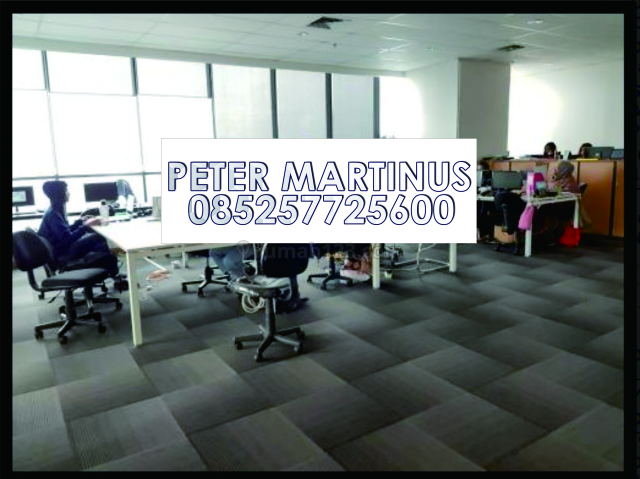 GRAB IT FAST! Office APL Tower Podomoro City 250RIBU/month/sqm 298sqm Furnished, Central Park, Jakarta Barat