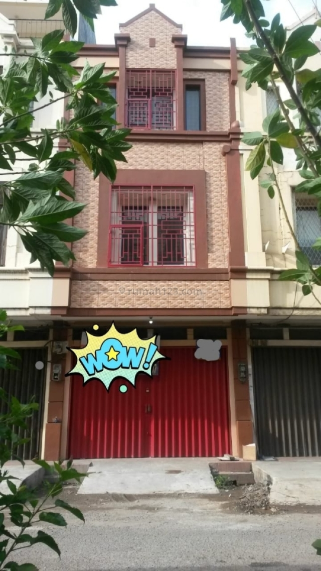 MURAH!! Ruko Pelangi Cengkareng 3.5 lantai Hanya 70jt/thn, Cengkareng, Jakarta Barat