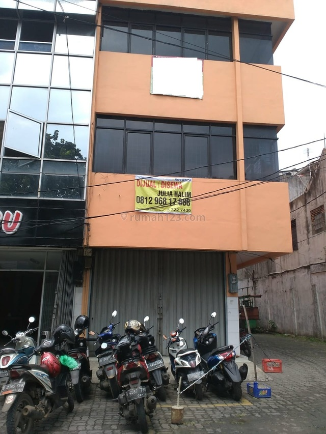 Jual Ruko di Jalan Raya Pasar Minggu Lokasi Strategis, Pasar Minggu, Jakarta Selatan