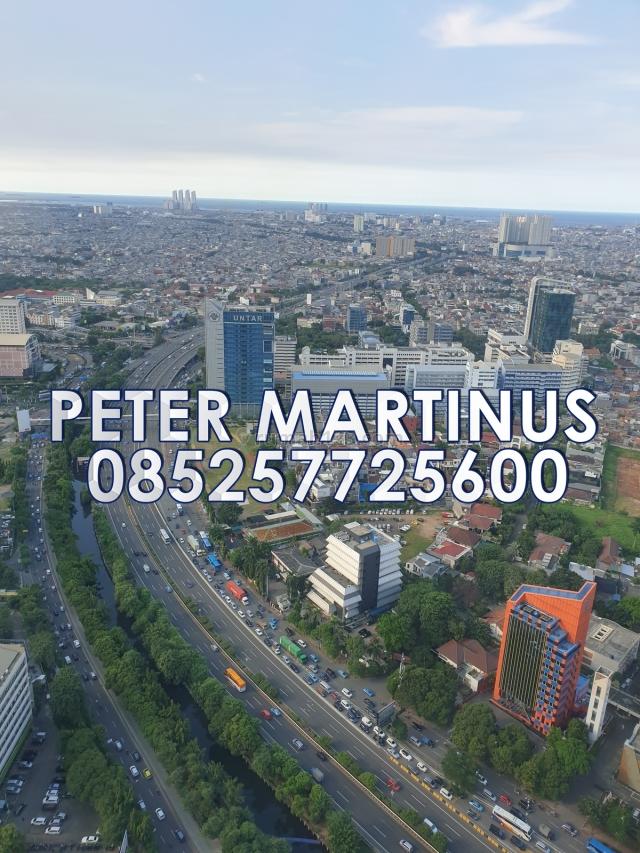MURAAAAHHH Soho Capital Fitting Out Finishing 200/sqm/bln 140sqm, Central Park, Jakarta Barat
