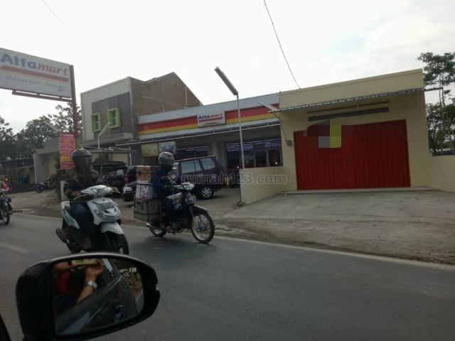 Ruko aktif penghasilan menarik sekarang di isi oleh alfamart lokasi majalaya bandung, Majalaya, Bandung