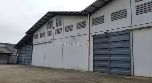 Gudang Akong bagus siap pakai murah bisa  izin industri b3 tangerang banten, Mauk, Tangerang