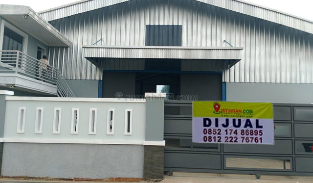 Gudang baru lokasi strategis berada di zona industri di Mustika Jaya, Bekasi, Mustikajaya, Bekasi