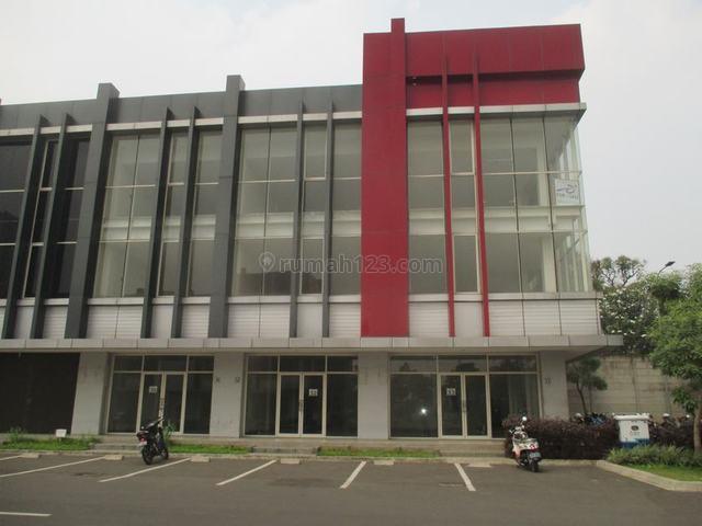 Disewa Ruko Baru Ayodhya , Pinggir Jalan, 3 Lantai, Hook, Siap Huni, Alam Sutera, Tangerang