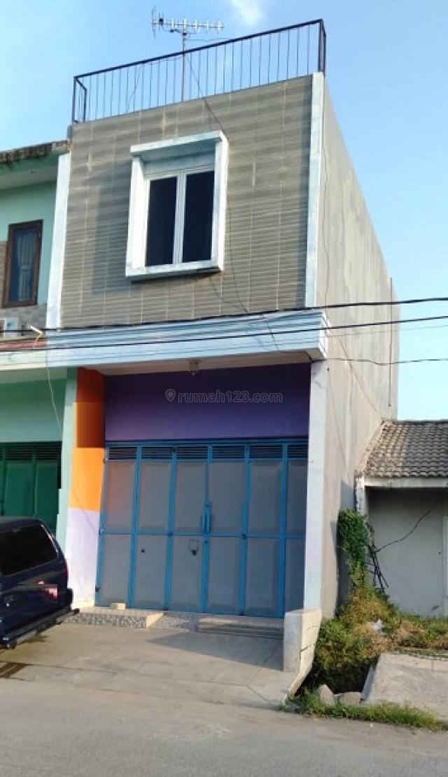 Termurah!! Ruko 2 Lantai Masih 500SAN!! Di Sektor v (4483)RC, Pondok Ungu, Bekasi