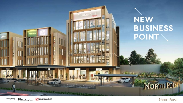 North point office building at nava park BSD city-serpong, BSD, Tangerang