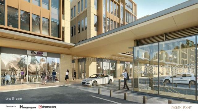 brand new, north point office building by nava park, mewah dan elegan, BSD, Tangerang