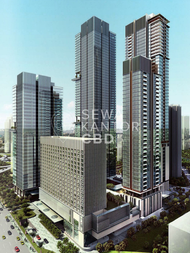 Office Space Mangkuluhur City Tower One , Gatot Subroto, Jakarta Selatan, Gatot Subroto, Jakarta Selatan
