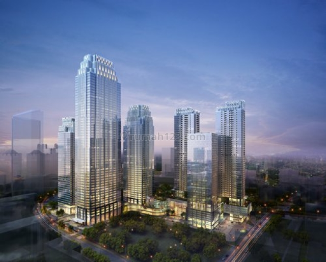 Perkantoran District 8 Office Space (SCBD) 143m2 - Brand New Unit, SCBD, Jakarta Selatan