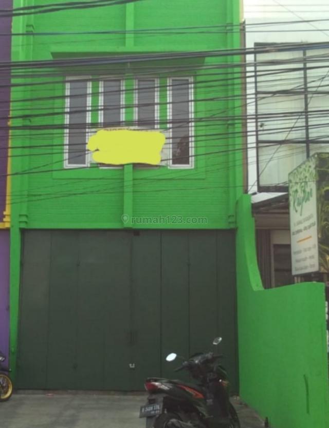 Ruko 2½lantai di pinggir jalan raya, lokasi strategis, Pasar Minggu, Jakarta Selatan