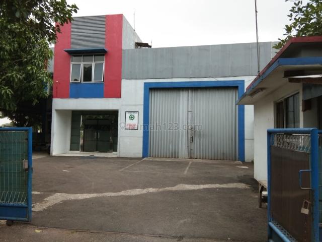Beli Kantor Pabrik Gudang 2 Lantai Bonus Ruko 3 Lantai, Cikarang, Bekasi