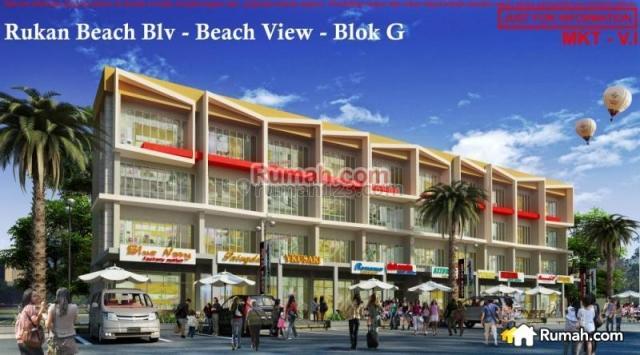 ruko baru Beach View GOlf Island Pantai Indah Kapuk (PIK) View laut, Pantai Indah Kapuk, Jakarta Utara