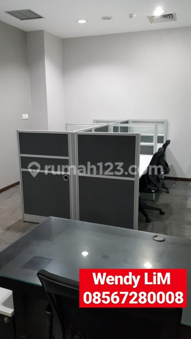 OFFICE SPACE At SENOPATI 8, 47 SQM (( FOR LEASE )) ((FULL FURNISH)) 400 RB/M2/BL, Senopati, Jakarta Selatan