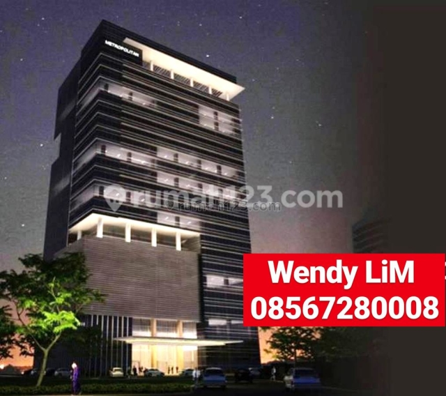RUANG KANTOR At METROPOLITAN TOWER sz. 900 SQM, IDR 170 RB/M2/BLN (( FOR LEASE )), TB Simatupang, Jakarta Selatan